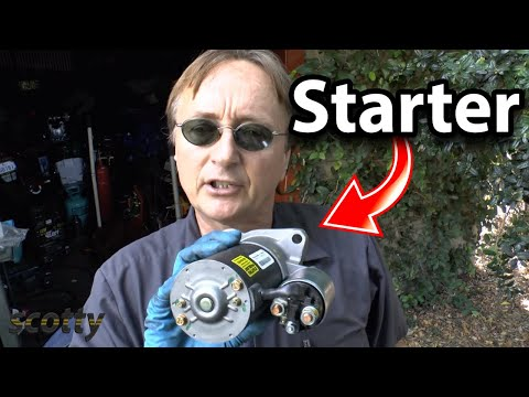Replacing A Bad Starter On Your Car