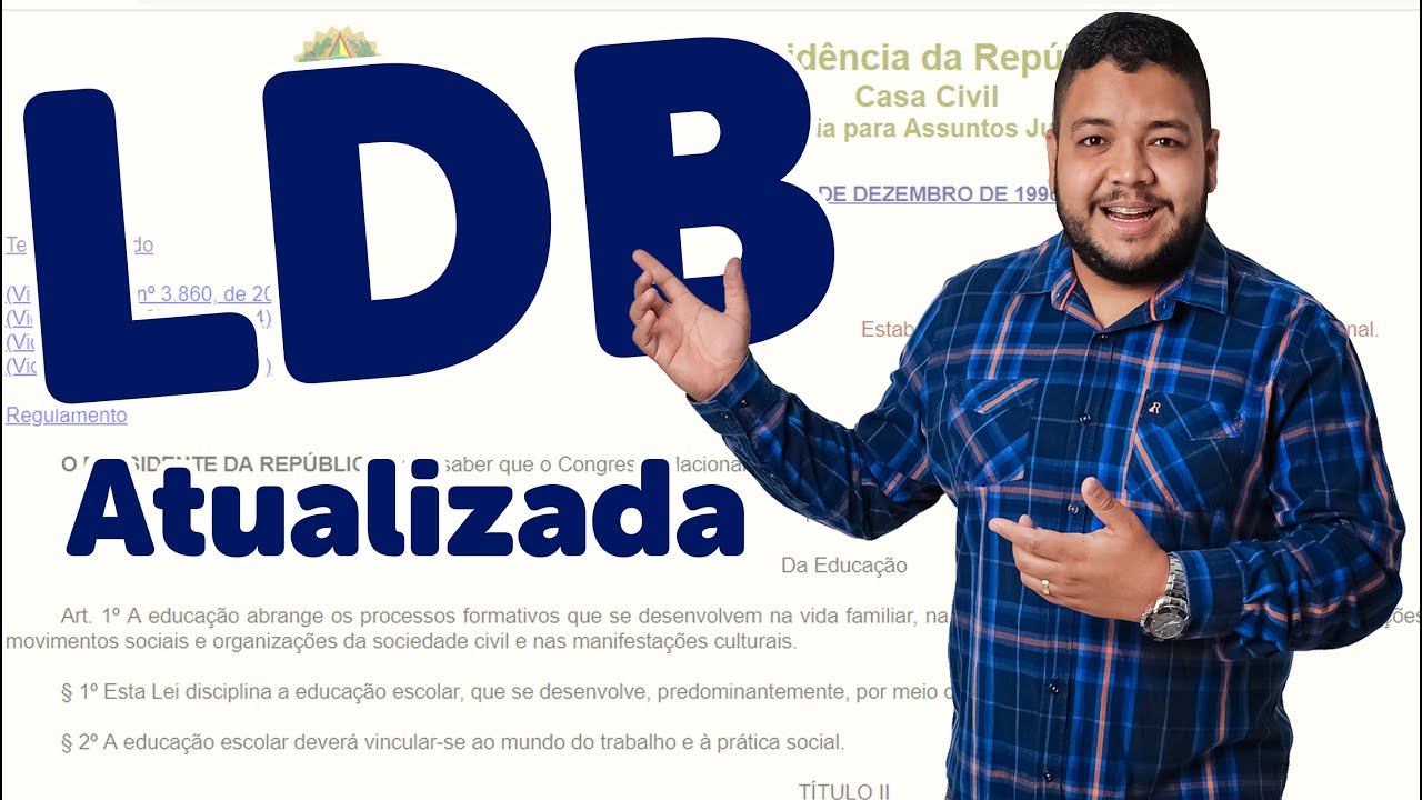 GRÁTIS ATUALIZADA DOWNLOAD LDB COMENTADA