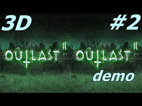 Outlast 2  3D VR video  VR box 3D SBS google cardboard demo # 2