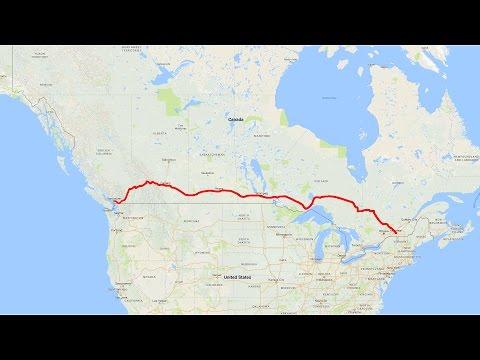 A road trip across Canada