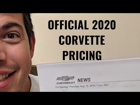 2020 C8 Corvette Pricing LEAKED! ... AND NOW CONFIRMED CORRECT!