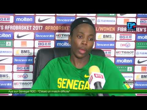 """Aya sur Sénégal/ RDC : """"C'était un match difficile"""""""