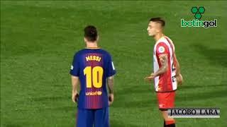 Maffeo, la marca personal de Messi ante Girona