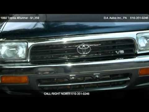 1992 Toyota 4Runner SR5 - for sale in Allentown, PA 18109