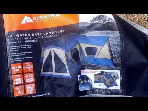 Ozark Trail 14 person tent 4/5/17