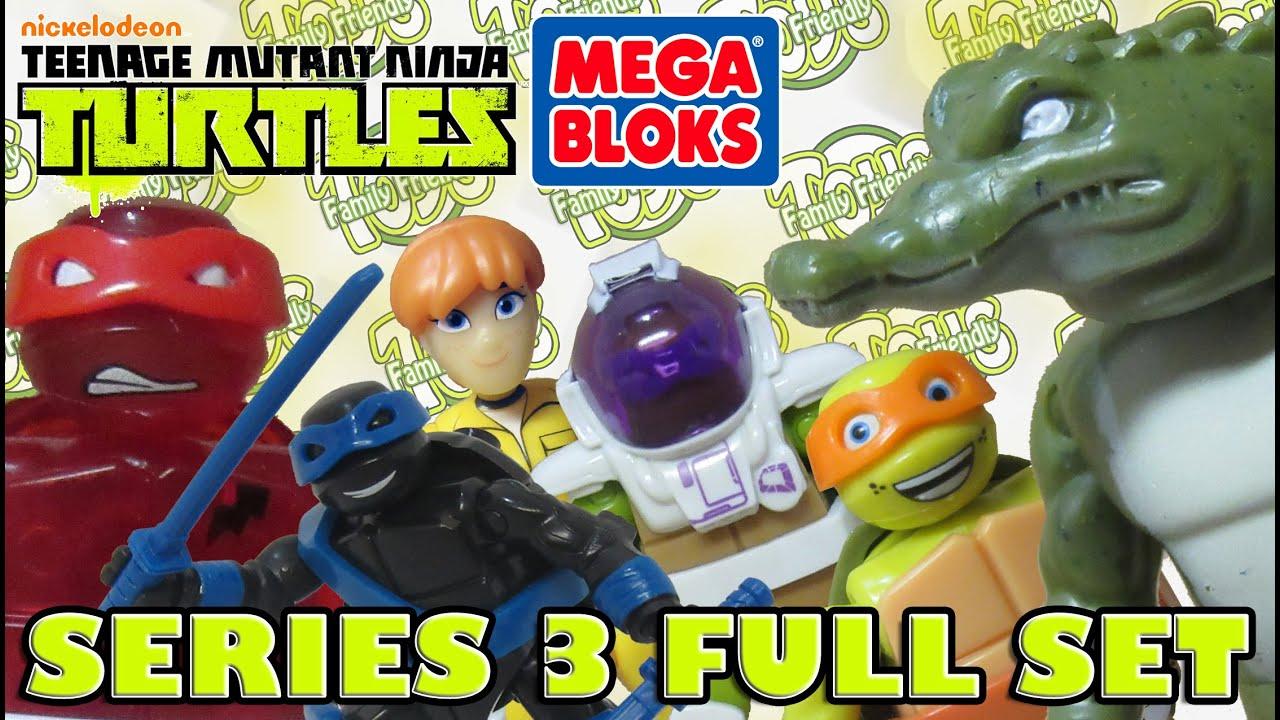 Teenage Mutant Ninja Turtles Mega Bloks Series 3 Blind