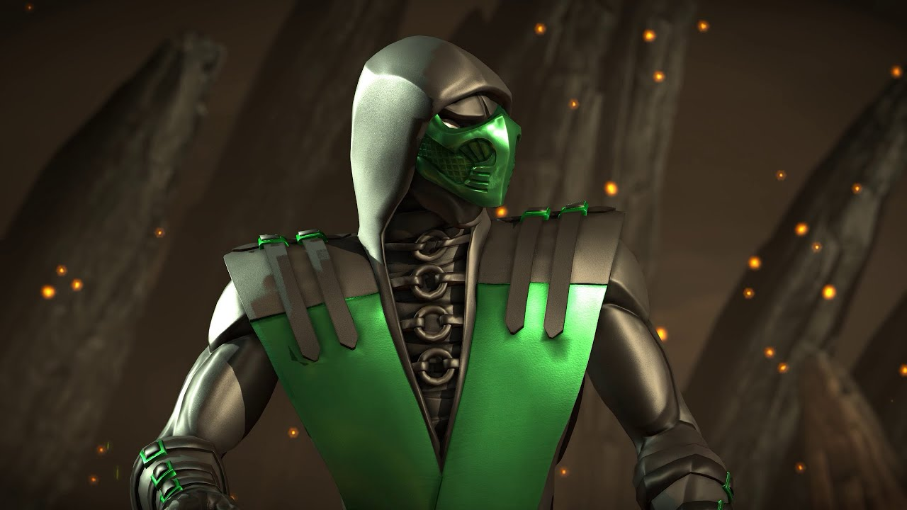 mortal kombat x pc dlc mod emerald reptile intro gameplay x-ray
