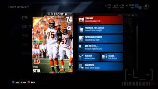 DEVON STILL 74 Overall DT Suprising Value on Auctions | Madden 16 Ultimate Team