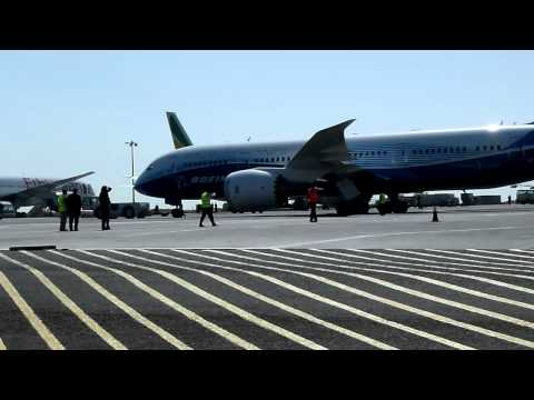 Boeing 787 Dreamliner in Addis Ababa