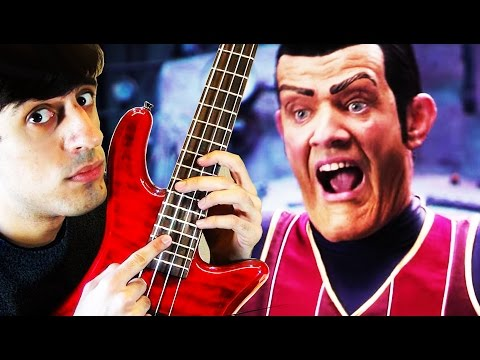 Download Youtube: We Are Number One but it's on bass guitar