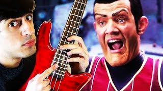 We Are Number One but it's on bass guitar