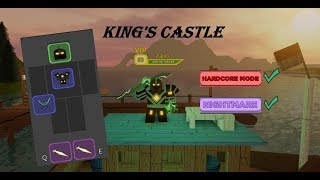 King's Castle Teaching *Nightmare* *Solo*| ROBLOX:Dungeon Quest