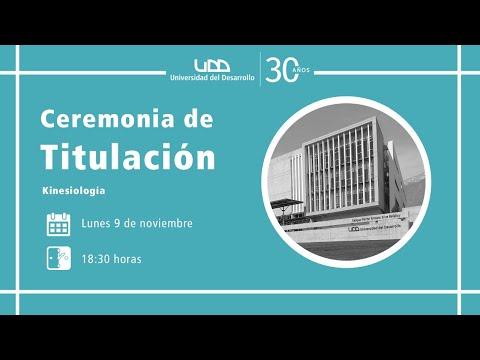 Ceremonia de Titulación Kinesiología - Santiago
