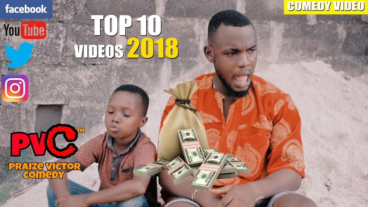 TOP 10 VIDEOS 2018 (PRAIZE VICTOR COMEDY)