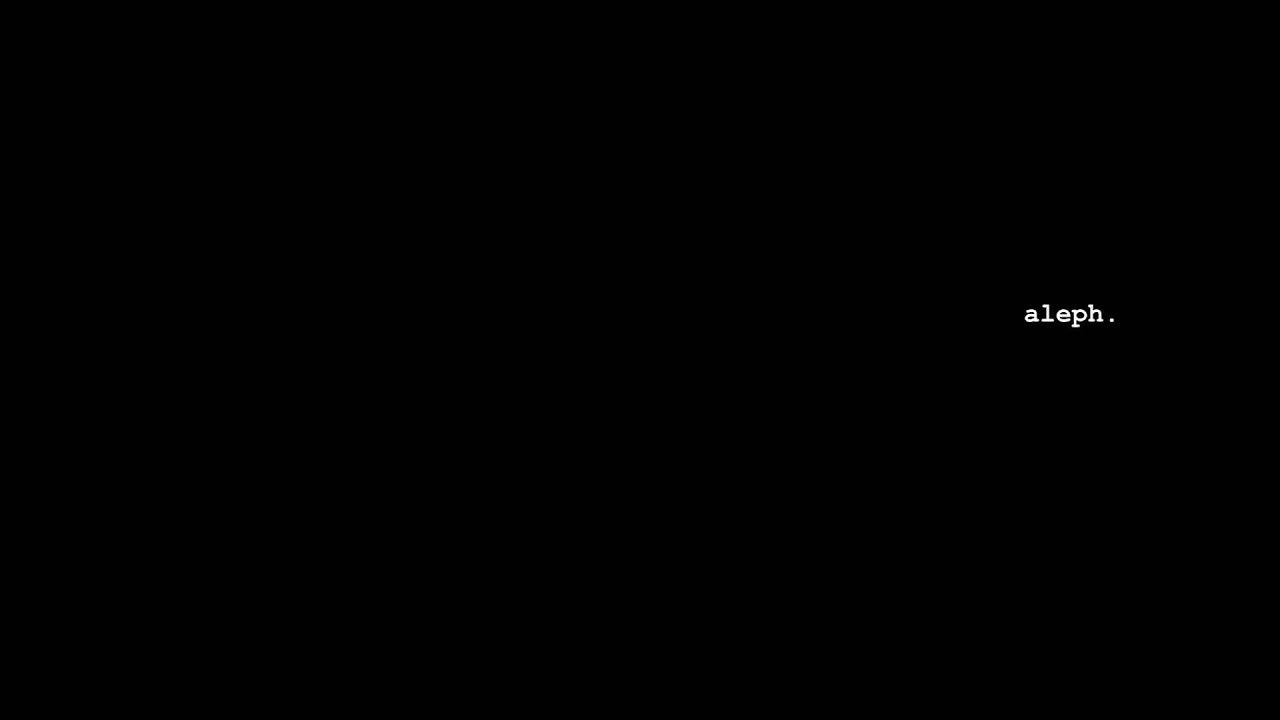 aleph - My RØDE Reel 2020