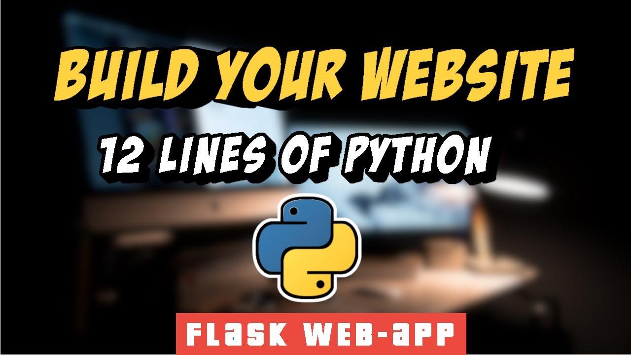 Flask Project : Build your Own URL Shortener Website in 12 Lines of Code