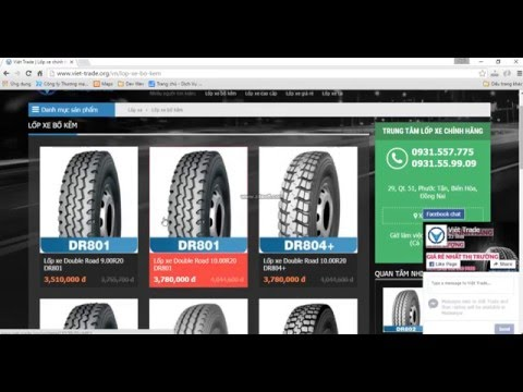 Lốp xe tải bố kẽm giá rẻ - www.viet-trade.org