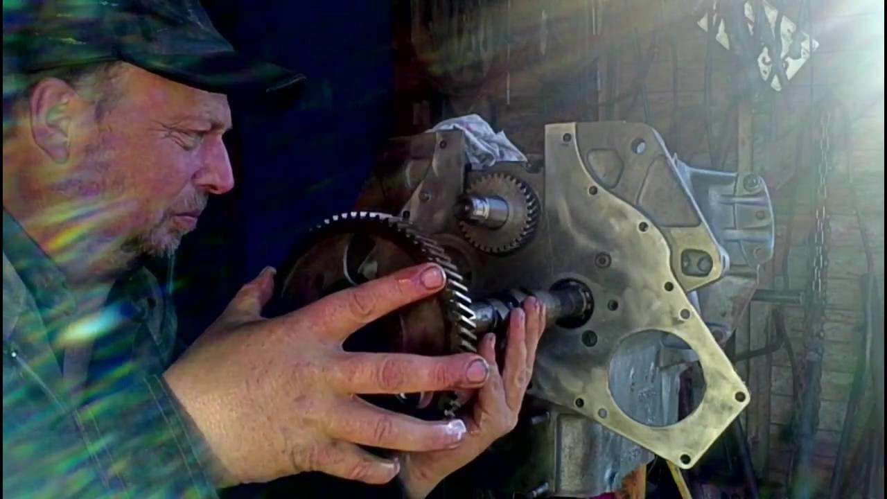 Ih 444 Engine Rebuild Part5 Cam And Lifters Engine