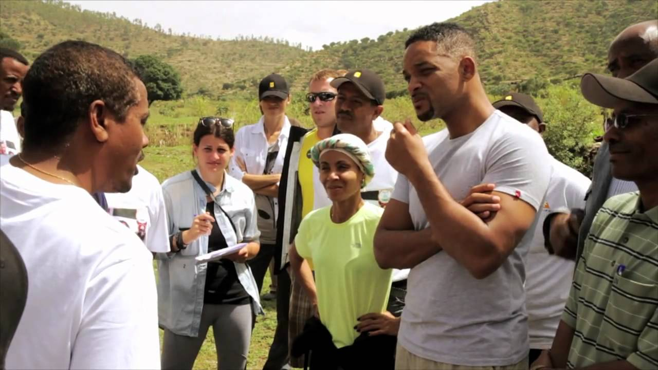 Jada Pinkett Smith and Will Smith visit charity  water projects in Ethiopia - www.addisallaround.com