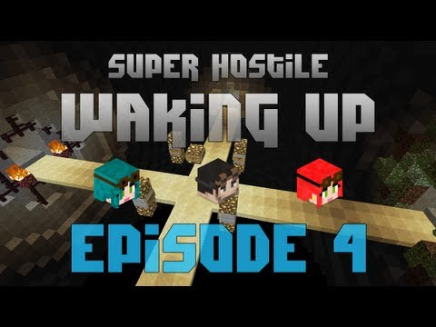 Minecraft Super Hostile - Waking Up - Episode 4 - A Place To Call Home