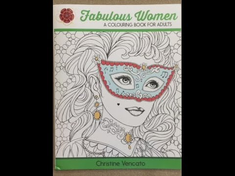 Fabulous Women: A Colouring Book for Adults: Lovely Ladies at Work and Leisure flip through