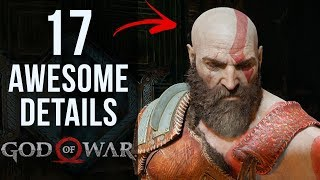 17 AWESOME Details in God of War