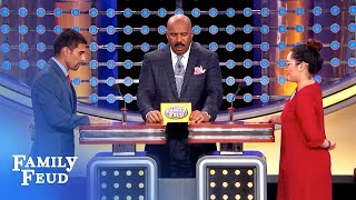 So Funny! Which U.S. Prez would look best BARE-CHESTED? | Family Feud