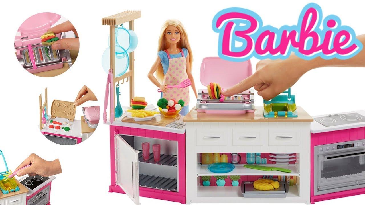 Barbie Play Doh Idealna Kuchnia Frh73