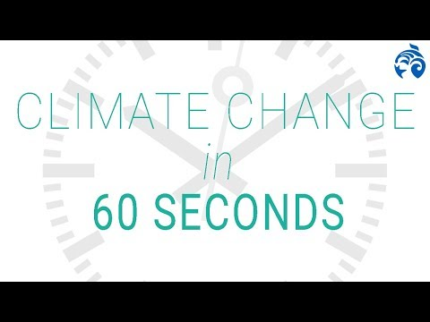 What is Climate Change? | 60 Seconds | Ocean Wise