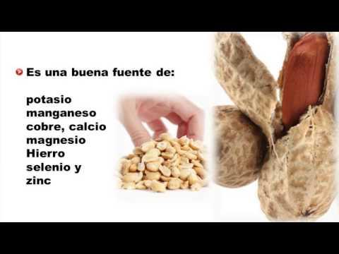 beneficios del mani molido