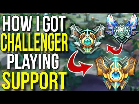 How I Climbed to Challenger Playing Support - League of Lege