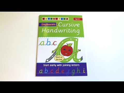 Beginners Cursive Handwriting