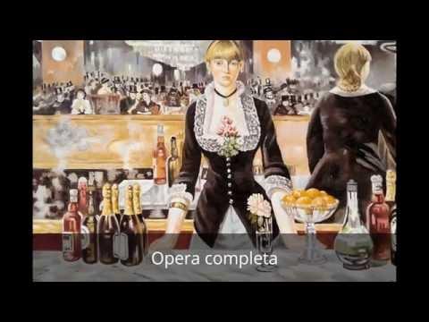 Impressionismo online Edouard Manet Il bar delle Folies Bergère Dario Meloni Artist Painter