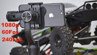 Test Iphone 8 PLus 1080p 60/240Fps SLOW MOTION