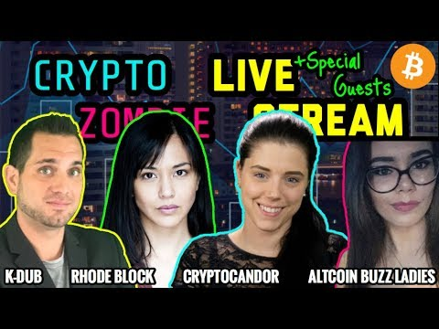 Crypto Zombie | Altcoin Buzz Ladies | Rhode Block | Crypto Candor | Cryptocurrency Chat $BTC $ETH 🚀