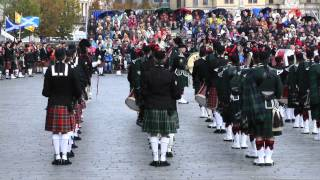 Tattoo Ieper 2012 Opening Massed Pipes & Drums