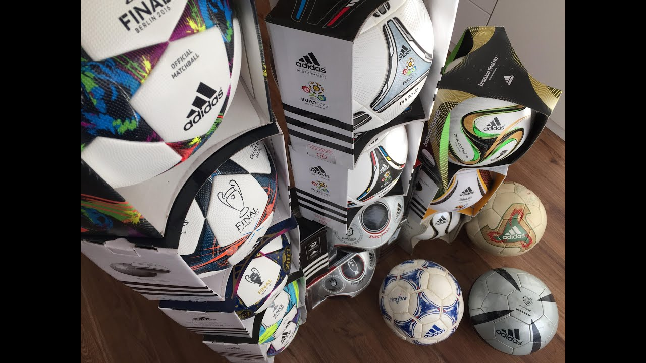 adidas matchball collection history finale brazuca
