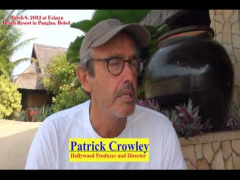 Bourne Legacy Producer & Director Patrick  Crowley will Promote Bohol.