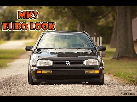Mk4 Jetta Euro >> Mk3 Euro Look - YouTube