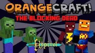 Annoying Orange Let's Play Minecraft - BLOCKING DEAD on Hypixel