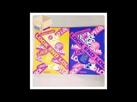 1theK Unboxing(원덕후의 언박싱): Weki Meki(위키미키) _ 2nd Single Album 'LOCK END LOL'