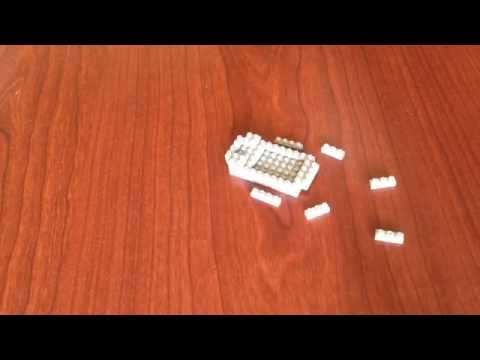 Nano Architect - Hippo Nanoblocks