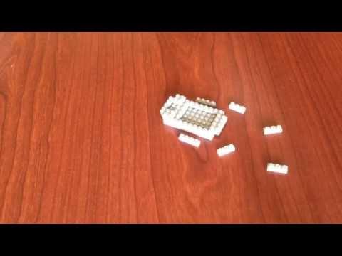 Nano Architect - Hippo Nanoblocks