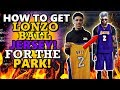 NBA 2K17 HOW TO GET LONZO BALL JERSEY FOR THE PARK ALSO WORKS FOR ANY OTHER PLAYERS JERSEY