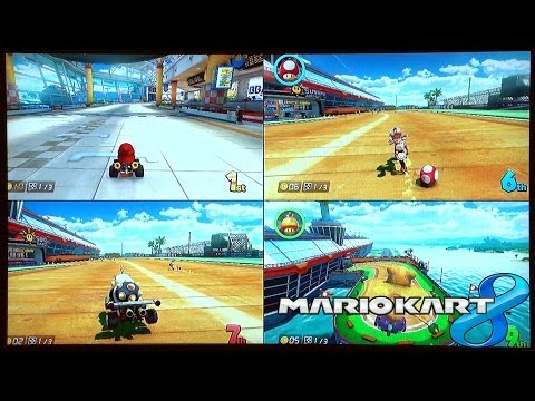 Sunshine Airport – Mario Kart 8 – New Course Gameplay