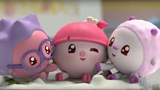 Малышарики - На площадке 16 серия - обучающие мультфильмы для малышей 0-4
