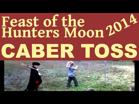 Feast of the Hunters Moon Caber Toss