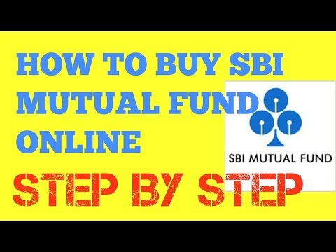 How to buy sbi mutual fund or SIP online HD