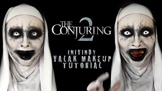 Valak Makeup Tutorial - Conjuring 2 | Inivindy