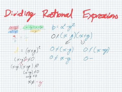 Dividing Rational Expressions (Grade 11 University Lesson 2.7)